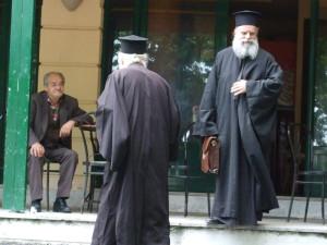 Zwei orthodoxe Popen