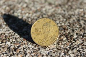 griechische 50-Cent-Münze