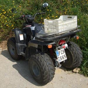 Landwirtschaftliches Nutzfahrzeug