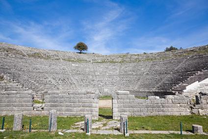 Das antike Theater von Dodoni