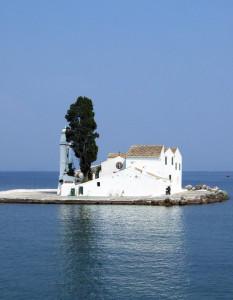 Das Wahrzeichen von Korfu: Die Mäuseinsel