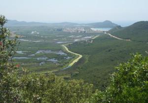 Das Tal des Acheron bei Ammoudia