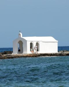 Die kleine Kapelle von Georgioupolis auf Kreta