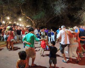 Eine Panigiria auf Korfu