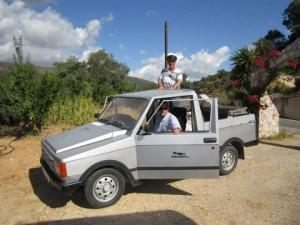 Dieser Pony von Namco Motors gehört Radio Kreta